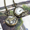 Personalised Bronze Pocket Watch Single Horse Design