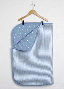 Paper Plane Revesible Blanket - summer sale