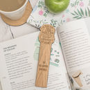 'A Teacher Takes A Hand' Teacher Bookmark