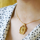 Gold Filled Celestial Spinner Necklace