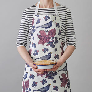 Blackbird And Bramble Apron