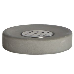 Concrete Soap Dish - bathroom