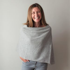 Bespoke Cashmere Poncho - jumpers & cardigans