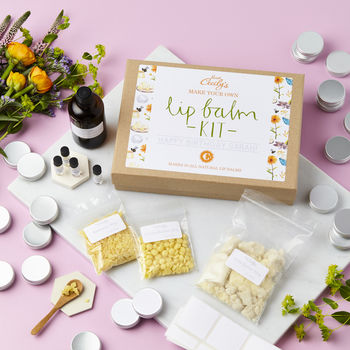 Create Your Own Natural Lip Balm Kit