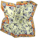 Shoo Fly Shoo | Insect Square Silk Scarf