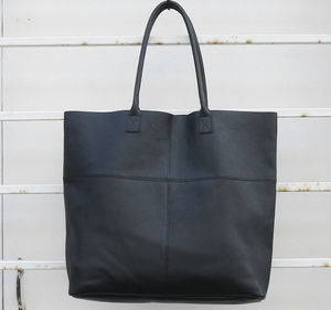 Leather Mira Large Tote Bag - autumn bag edit