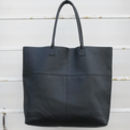 Leather Mira Large Tote Bag