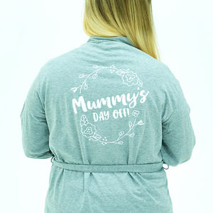 Personalised Secret Message Mothers Day Robe