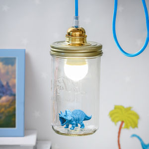 Dinosaur In A Jar Light - bedside lamps