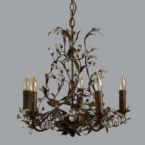 Auberville Crystal Chandelier - ceiling lights