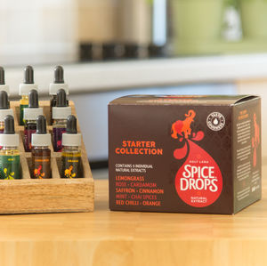Spice Drops® Starter Collection + Recipe Booklet + Rack