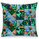 Freah Geo Print Cotton Cushion + Waterproof