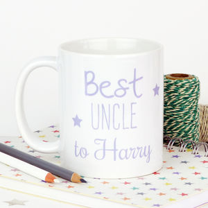 Personalised 'Best Uncle' Mug