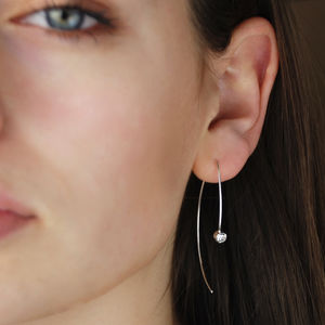 Wishbone Sparkle Earrings - gifts for her