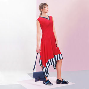 Allegra Dress Red - dresses