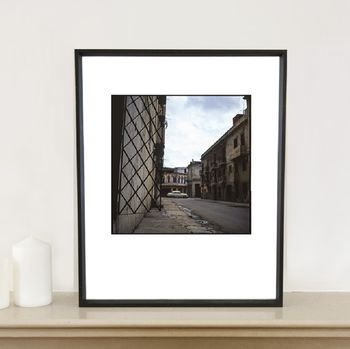 Deserted Street, Havana Photographic Art Print