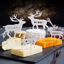 Personalised Arctic Animal Cheese Board Toppers