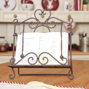 Recipe Cookbook Stand For Home Baking - storage & organisers