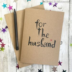 For The Husband Card