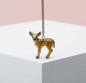 Baby Bambi Necklace - necklaces & pendants