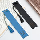 Personalised Initial Italian Leather Bookmark