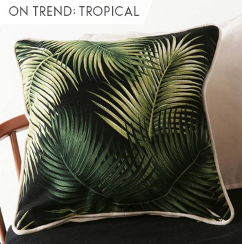 on trend: tropical