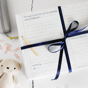 Write Your Own Father's Day Wrapping Paper Set