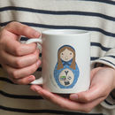 Personalised 'Russian Doll' Mug
