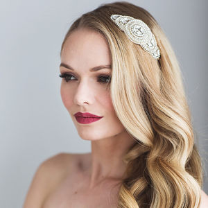 Aeron Bridal Headdress - bridal hairpieces