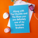 Favourite Brother Greetings Card