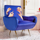 Red Lipstick Designer Chair