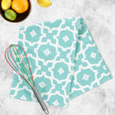 Taha'a Tea Towel In Teal
