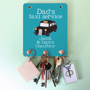Personalised Key Peg Hook For Dad