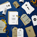 Tag Wedding Stationery Sample Pack