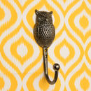 Erick Single Metal Hook Owl Design Hook