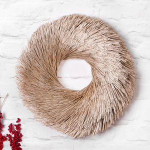 Pine Straw Wreath - christmas parties & entertaining