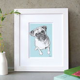 Personalised Pet Portrait - prints & art