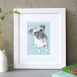 Personalised Pet Portrait - top unique gifts