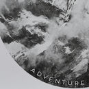Adventure Awaits Mountain Stencil Print