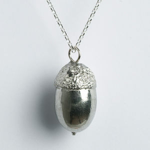 Acorn Necklace, Acorn Gifts