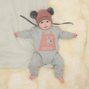 Grimmy Bear Hug Romper - babies' jumpers