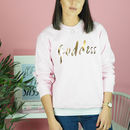'Goddess' Sweatshirt