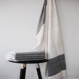 Natural Eri Silk Throw - bedspreads & quilts