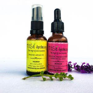 Revitalising And Rejuvenating Facial Care Set