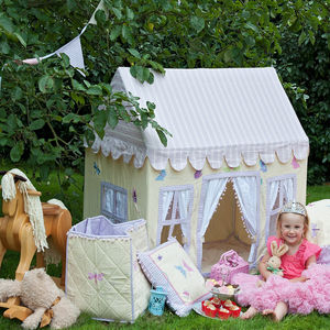 Butterfly Cottage Play Tent: 3yrs+ - tents, dens & teepees