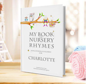Nursery Rhymes And Personalised Poems Book - gifts: under £25
