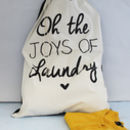 Laundry Quote Laundry Bag