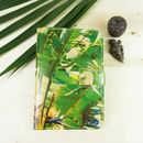 Palms Leather Passport Case