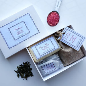 'Arethusa' Spa And Tea Personalised Gift - gift sets