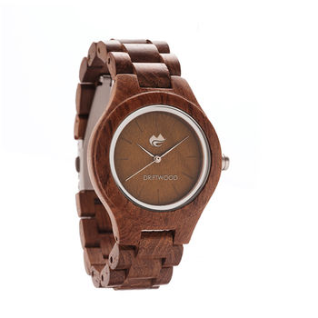Walnut Silver Edition Wood Watch – Driftwood Watches